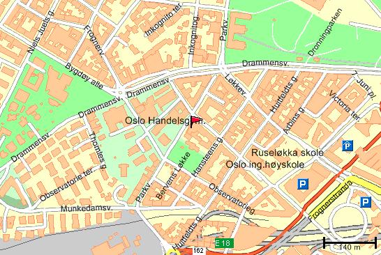 kart gangavstand Påskelyn kart gangavstand